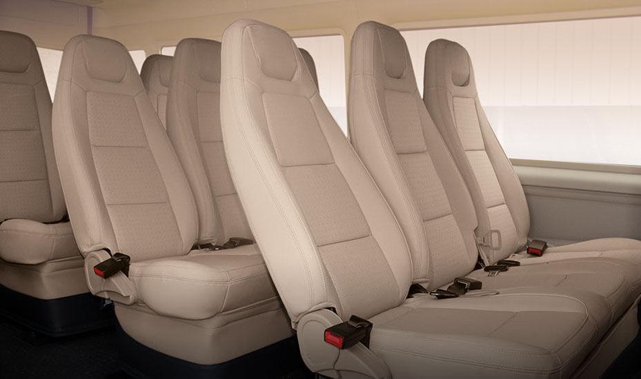Tiện nghi thoải mái cho hành khách